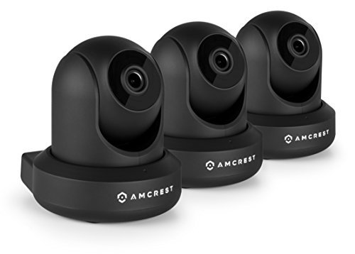 3 Pack Amcrest Prohd 1080p Wifi Wireless Ip Security